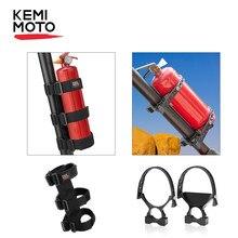 Suporte do extintor de incêndio utv barra de rolo montada para pode am maverick x3 para polaris rzr 800 900 1000 xp ranger para jeep tj jk jl.