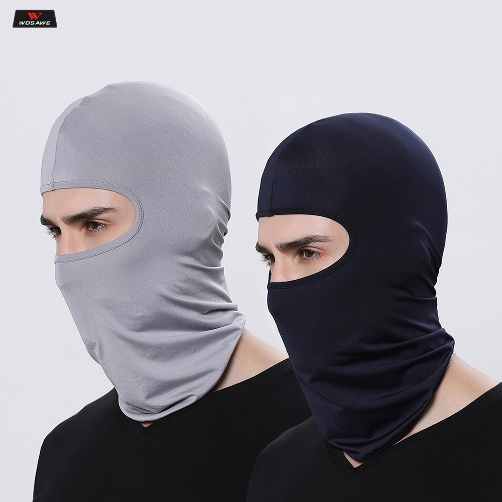 Image 2 - Motorcycle Balaclava Full Face Mask Warmer Windproof Breathable Airsoft Paintball Cycling Ski Shield Anti UV Men Sun Hats Helmet-in Motorcycle Face Mask from Automobiles & Motorcycles