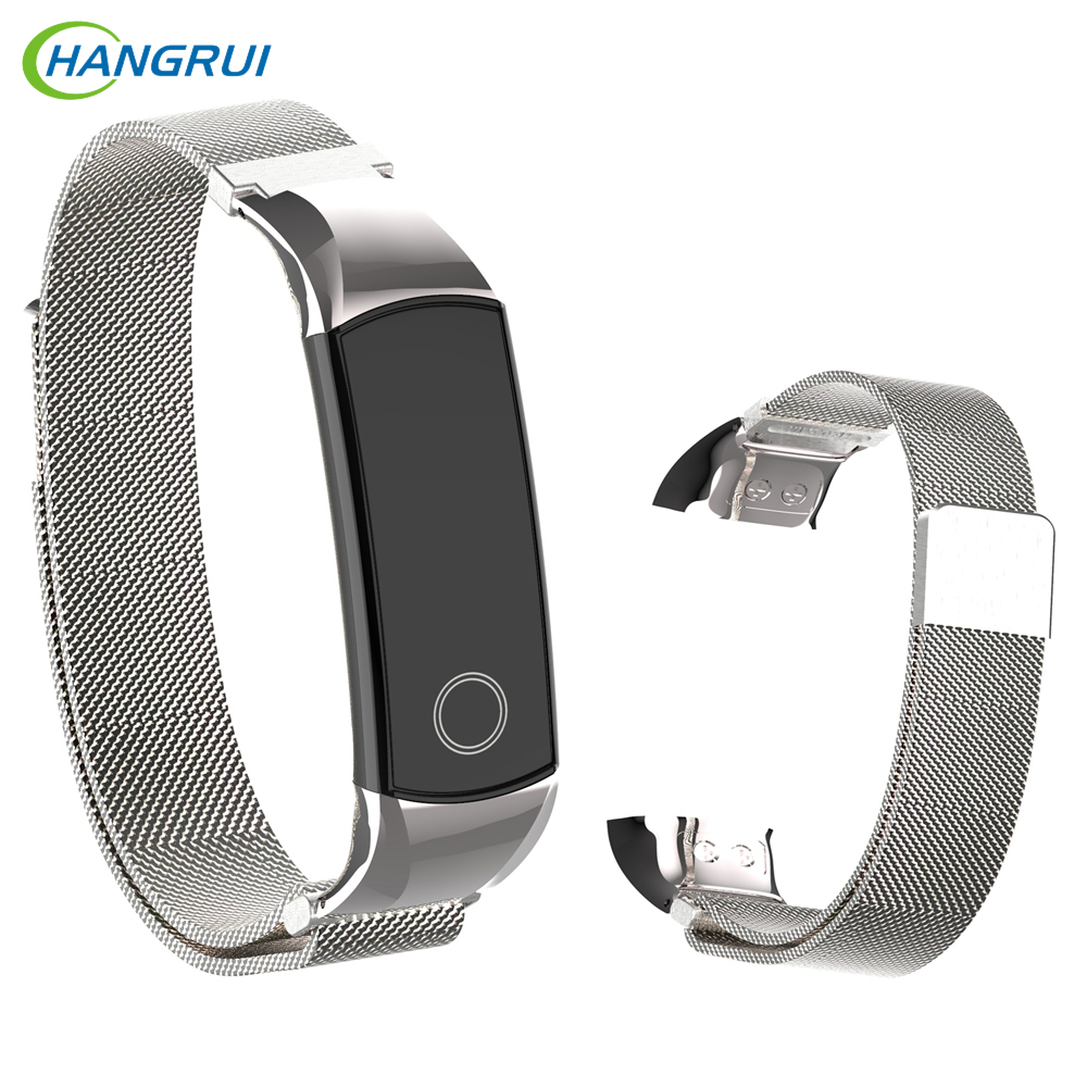 Milanese Loop Wristband For Huawei Honor Band 4 5 Magnetic Buckle Bracelet Replacement For Honor Band 4 5 Wrist Straps Bracelet