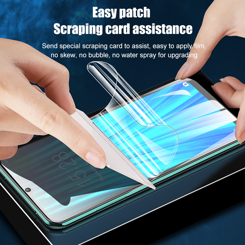 Front & Back Hydrogel Film For Xiaomi Redmi Note 7 5 8 Pro 8T K20 Pro Screen Protector For Redmi 4X 6A 7 7A 5 Plus Not Glass