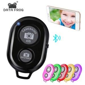 Image 1 - Datafrog Camera Bluetooth Afstandsbediening Foto Ontspanknop Voor Ios/Android Camera Sluiter Selfie Afstandsbediening