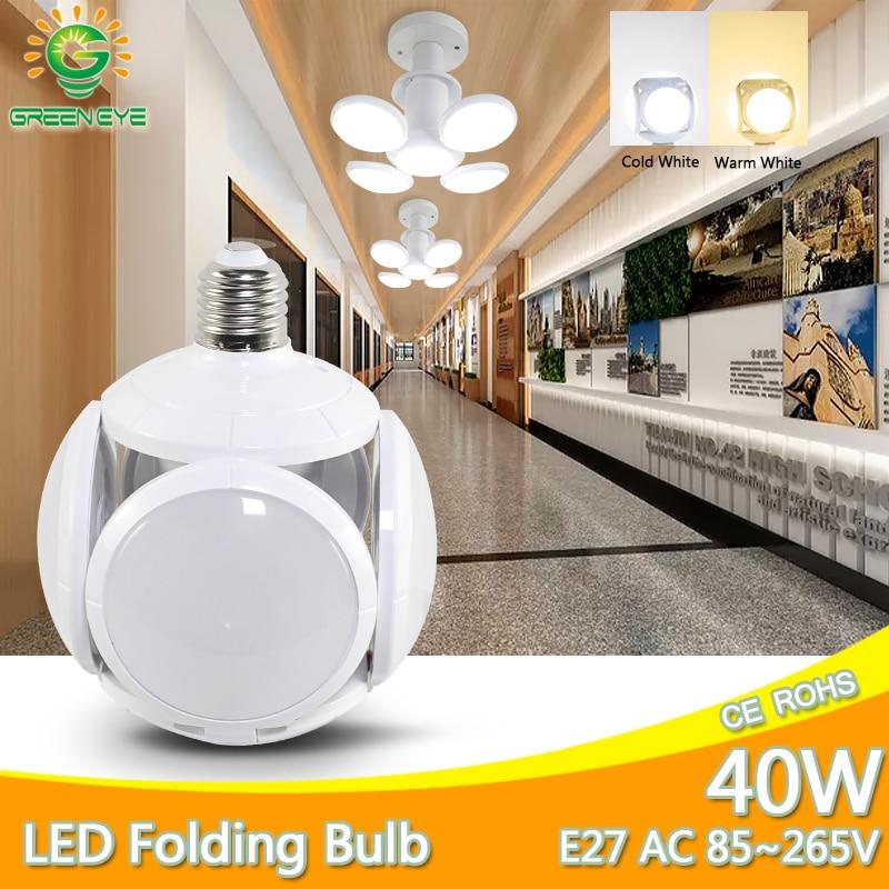 NEW Concept LED Bulb E27 40W AC 85-265V Cold White Warm White Bombilla led Lampada LED light football new bubble indoor lighting
