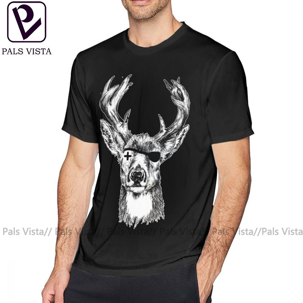 US $6.43 41% OFF|Jagermeister T Shirt JAGERMEISTER T Shirt Printed Male Tee Shirt Cotton Short Sleeves Awesome 6xl Casual Tshirt|T Shirts| |