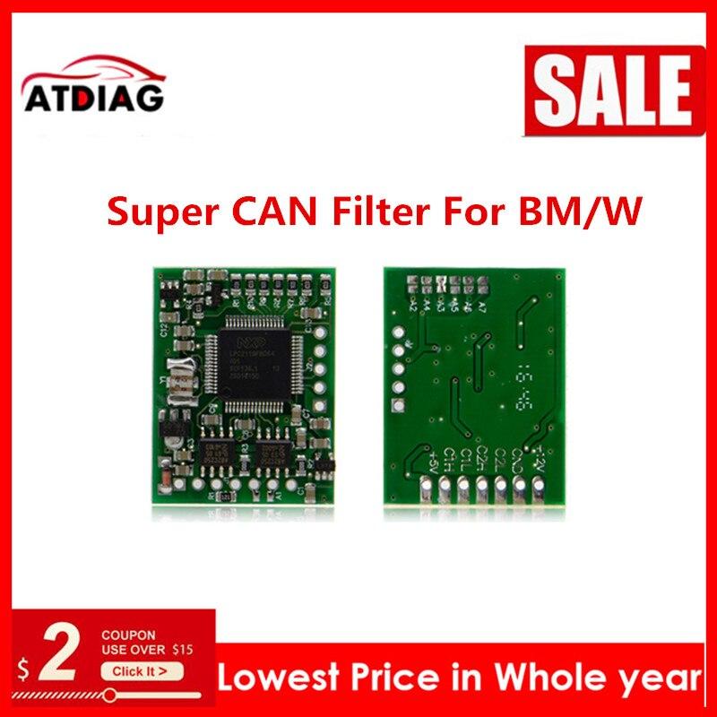 1-5 adet süper CAN filtre için BM/W CAS4 ve FEM/ M-B W212 W221 W164 W166 w204 süper CAN filtre
