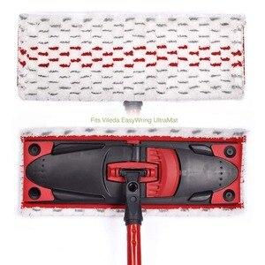 Image 5 - Almohadillas de microfibra para fregona, repuesto de microfibra para mopa Vileda UltraMax o cedar