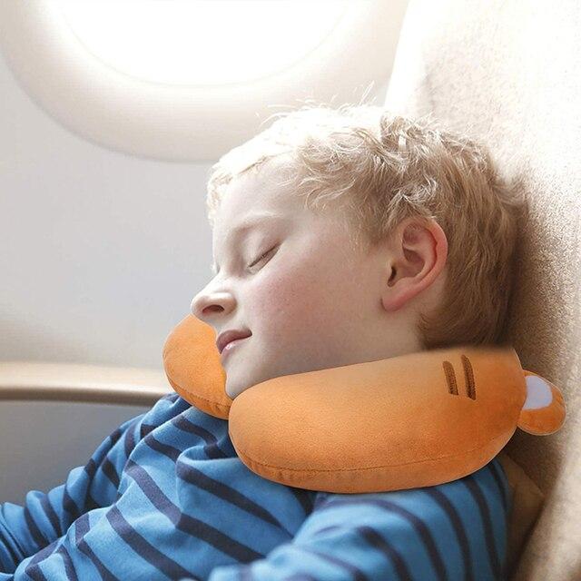 Kids Cartoon U-shaped Pillow