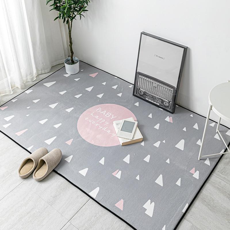 Nordic Cartoon Living Room Carpet