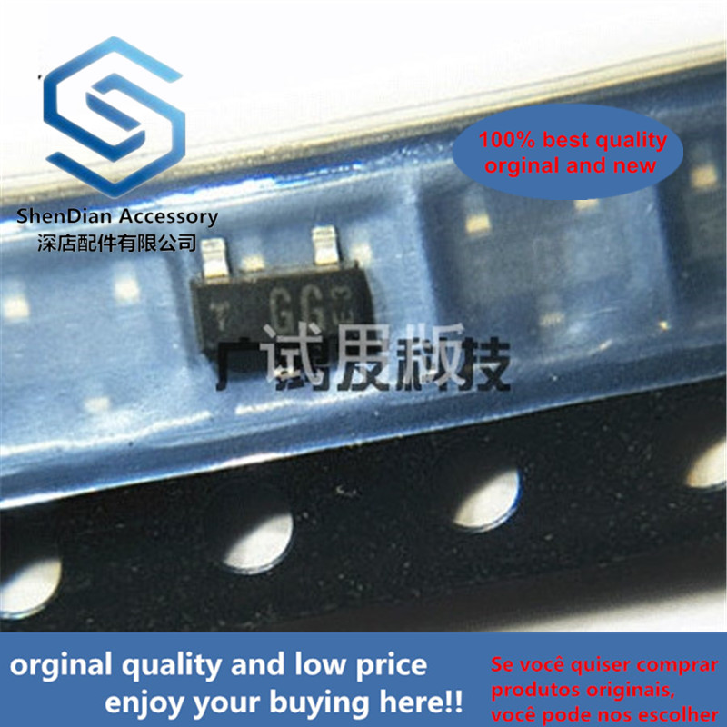 10pcs 100% Orginal New BF579R-GS08 RF Transistor PNP Transistor Silk Screen GG Patch SOT-23