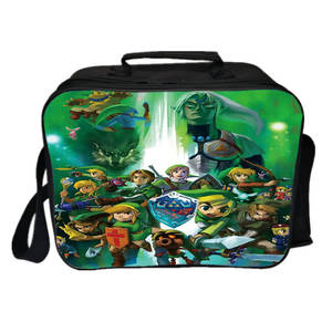 Lunch-Bag Picnic-Box Thermal-Shoulder-Bag Insulation Icepack Women of Zelda Link Legend