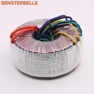 Image 1 - 300 Вт двойной 28 в двойной 12 в одиночный 6 в блок питания, трансформатор, аудио усилитель 300VA тороидальный трансформатор из чистой меди