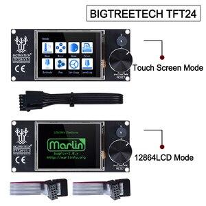 Image 1 - BIGTREETECH TFT24 V1.1 Touch Screen Display 12864LCD 3D Printer Parts VS MKS TFT2.4 For SKR PRO SKR V1.4 turbo Ender 3 upgrade