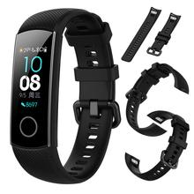 Soft Silicone Smart Sport Bracelet Strap Durable Waterproof Replacement Soft Bands for Huawei Honor Band 4 Smart Watch