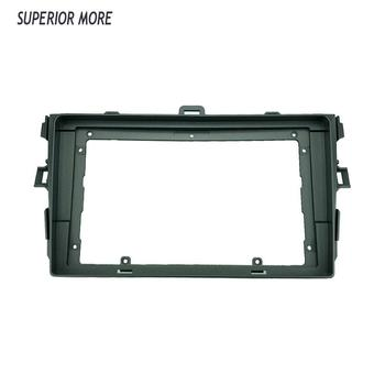 2din 9 Inch Car Radio Fascias for Toyota Corolla 2008-2012 Dashboard Frame Installation DVD GPS mp5 Android Multimedia Player image