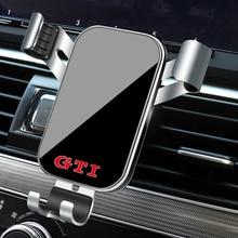 1Pcs Auto Telefon Halter Schwerkraft Sensing Air Vent Halterung Ständer Zubehör Für VW GTI Scirocco Jetta Beetle Golf GTD passat Polo