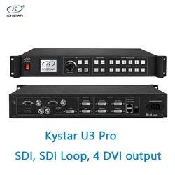 Kystar U3 видео процессор вход стандартного интерфейса данных три изображения процессор разделения 2560*1536 мозаика мульти-изображения