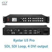 Kystar U3 معالج فيديو SDI المدخلات U3 برو ثلاث صور الربط المعالج SDI حلقة 2 أو 4 dvi الناتج 2 dvi رصد