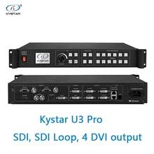 Kystar U3 procesor wideo wejście SDI U3 Pro trzy obrazy procesor forniru SDI pętli 2 lub 4 dvi wyjście 2 monitora dvi
