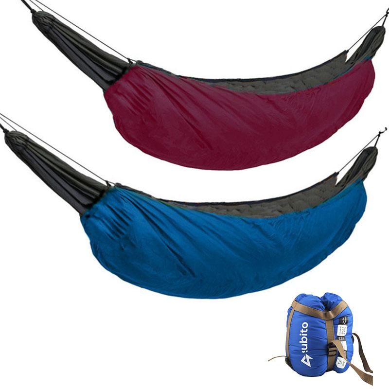 Зимний теплый складной гамак для кемпинга Сверхлегкий гамак под одеяло теплое под одеяло Походное одеяло 200*75 см