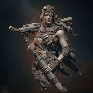 Image 1 - 1/12 грудь модельная фигурка из смолы комплект нераскрашенный BUST486(80 мм)