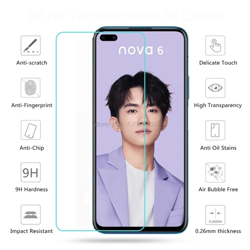 Huawei Nova 6 5G ապակե պաշտպան Huawei Nova 6 խիտ - Բջջային հեռախոսի պարագաներ և պահեստամասեր - Լուսանկար 2
