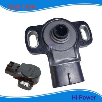 OEM 13550-13D60 korpus przepustnicy czujnik TPS dla Suzuki GSX600F GSXR600 GSXR750 GSX750F SV650 czujnik położenia przepustnicy tanie i dobre opinie Hi-power Indukcja magnetyczna Typ przełącznika Replacement Throttle Position Sensor 89281-33010 8928133010 13550-13D60 1355013D60
