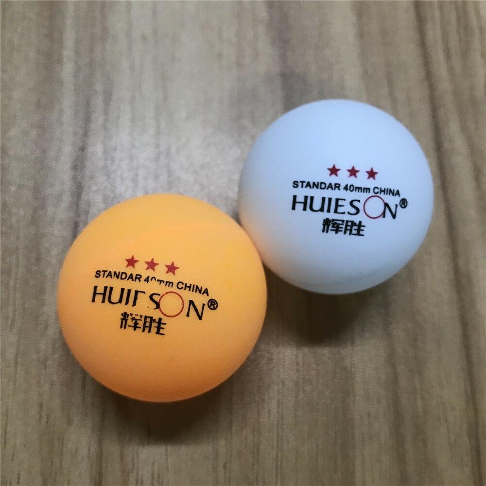 10pcs 3-Star Table Tennis Balls 40mm Ping Pong Balls Training Ping Pong Ball