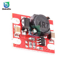DC-DC Adjustable Boost Module 2A DC DC Boost Step up Converter Module 2V-5V to 5V Power Module Booster 1 2 pcs dc dc step up converter boost 2a power supply module in 2v 24v to out 5v 28v adjustable regulator board dropship