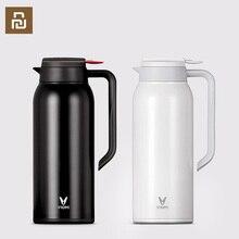 Youpin VIOMI เทอร์โมแก้ว 1.5L ถ้วยสูญญากาศสแตนเลส 24 ชั่วโมงขวดถ้วยน้ำขวดสำหรับทารกกลางแจ้งสำหรับสมาร์ทบ้าน