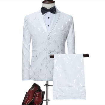 Two Piece Suit In Large Size, 2 Suits Men, Men , Mens Slim Wedding for Groom