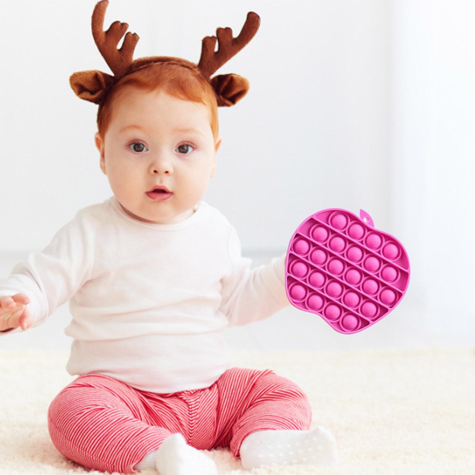 Adult Toys Fidget Rainbow Bubble-Sensory Squishy Pop-It Push-Pops Needs Anti-Stress Children img4