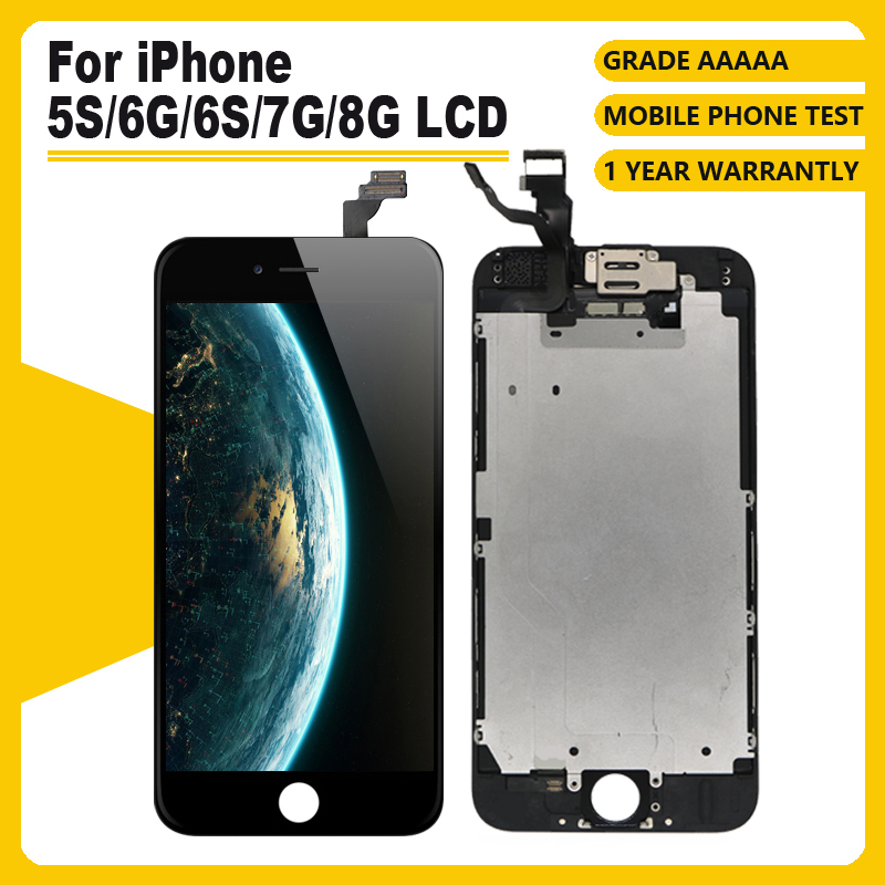AAAA++++ for iPhone 6 6S 6P 6S Plus LCD with 3D Touch Screen Digitizer Full Assembly Perfect for iPhone 7 8 8Plus Display+Gift(China)