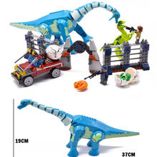 Lepining compatibile 75937 75938 73934 75935 New Educational Dinosauri Spinosaurus Assalto Figure Building Block(China)