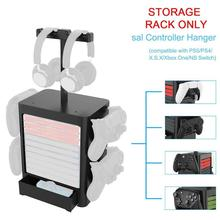 Storage-Rack for Xboxone Headphone Switch Game-Disc Multi-Functional Ps5/xsx