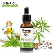 Universal 100% Original Hemp Seed Oil 30ml Pure Essential Oil For Relieve Stress Improving Sleep Body Skin Care Massage CBD Oil