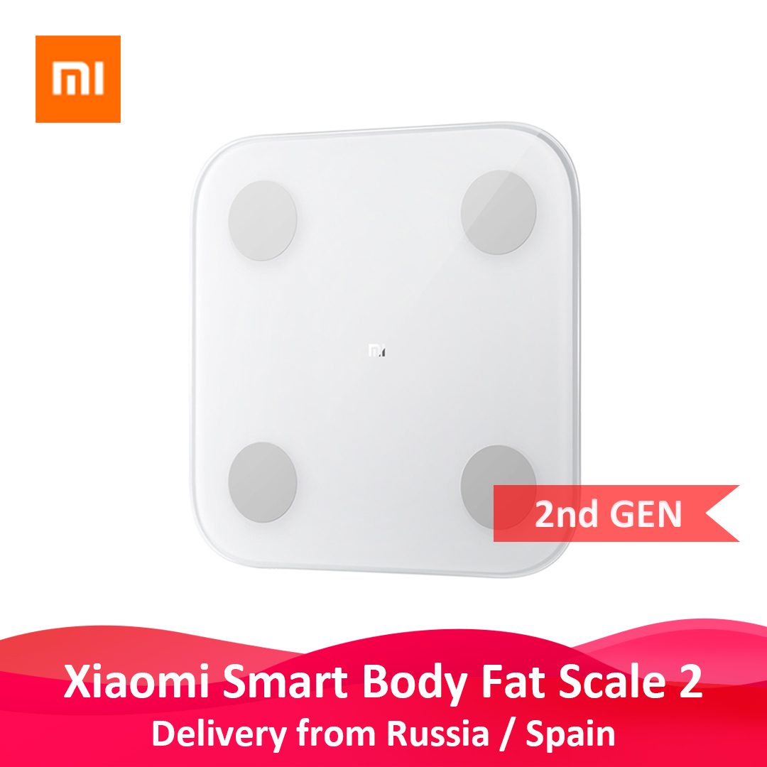 Xiaomi Scale 2 Balance-Test BMI Composition Health-Weight-Scale Fat Body-Date Bluetooth title=