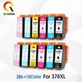 T378XL BK цветной 378xl 378xl совместимый чернильный картридж для Epson Expression Photo XP-8500/XP-8505/XP-15000 принтеров E3791 E3792