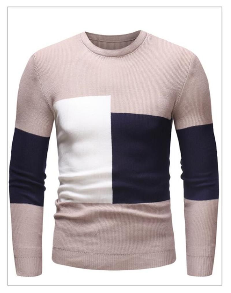 2021 Winter New Arrivals Thick Warm Sweaters O-Neck Wool Sweater Men Brand Clothing Knitted Cashmere Pullover Men M-2XL 4