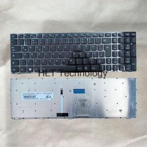De boa Qualidade Original e Preto Novo Teclado portátil EUA Para Y500 Lenovo Y500N Y510P Y500NT Backlight 100% totalmente testado