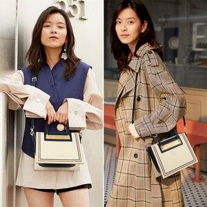 Image 2 - FOXER جلد البقر والجلود مكتب سيدة شيك محفظة فاخرة حقيبة ساع للأزياء الإناث عالية السعة المرأة حقيبة يد أنيقة