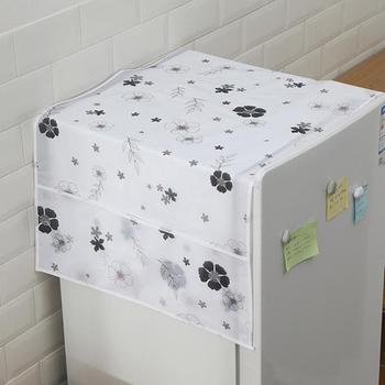 Kreatywny wzór zwierzęcy wodoodporny pokrowiec na pralkę pyłoszczelna pokrywa na lodówkę ochrona przeciwpyłowa Case akcesoria domowe tanie i dobre opinie Beeinch CN (pochodzenie) Refrigerator cover PRINTED Duszpasterska
