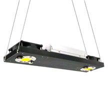 CREE CXB3590 Lámpara de cultivo de espectro completo, iluminación de Panel de crecimiento interior, 200W, 36000LM, 3500K, 5000K, LED COB regulable