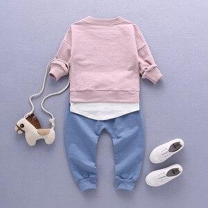 Image 4 - 2020เสื้อผ้าเด็กชุดเด็กชุดเด็กชุดเด็กฤดูใบไม้ร่วงชุดกีฬาชุด1 4Tชายหญิงชุดเด็กชุดเสื้อผ้า