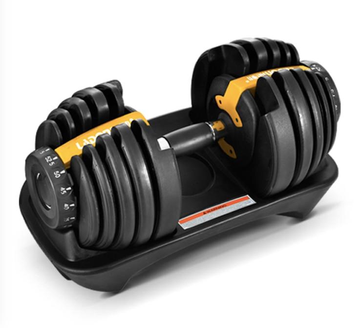 24kg Dumbbell Fitness Equipment Fast Adjustable Dumbbell
