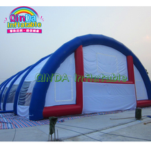 Top quality inflatable lighting arch dome tent, stage roof Inflatable cover tent for sale
