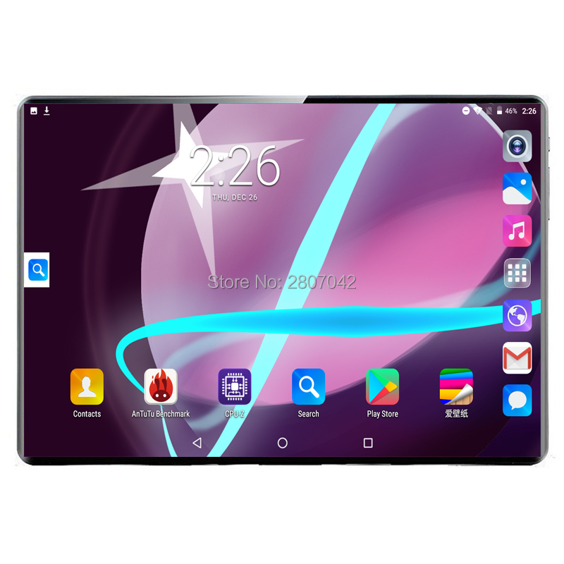 2020 New 10 Inch Tablet PC Deca Core Android 9.0 WiFi Dual SIM Cards 3G 4G LTE Tablets 10.1 8GB RAM 128GB ROM +64G Memory Card