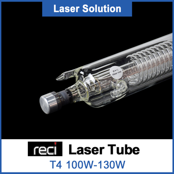 Reci T4 Co2 Glass Laser Tube 1400mm 100W diameter 65mm Glass Laser Lamp for CO2 Laser Engraving Cutting Machine efr f2 80w co2 glass laser tube 80mm diameter 1250mm length for co2 laser engraving machine