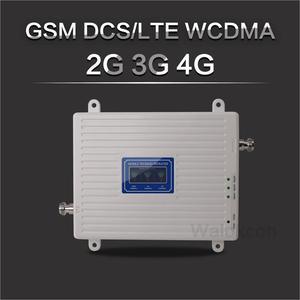 Image 1 - 흰색 900/1800/2100 셀룰러 증폭기 2G GSM 3G WCDMA 4G DCS 900 1800 2100 MHz 신호 리피터 4G LTE 부스터 (LCD 디스플레이 포함)