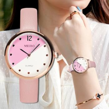 цена Women Watch Luxury Fashion Leather Band Analog Quartz Ladies Wrist Watch Stainless Steel Dial Casual Dress Watches reloj mujer онлайн в 2017 году