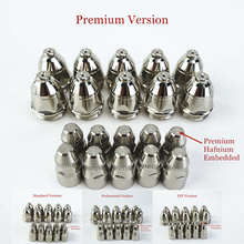 20 adet Premium P80 plazma kesme meşale sarf kesme 60A 80A 100A P80 CNC plazma torç ucu elektrot memesi