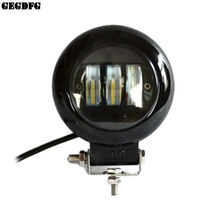 6D Lens 5 Inch Round Square Led Work Light 12V For Car SUV Trucks 4x4 Offroad Motorcycle Auto Working Driving Lights